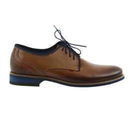 Hnědé pánské boty Nikopol 1653 hnědý