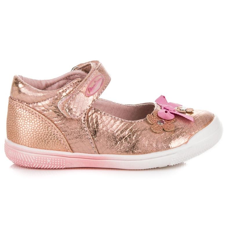 American Club Růžová americká jarní obuv růžový
