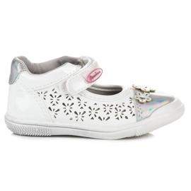 American Club Prolamované americké boty šedá
