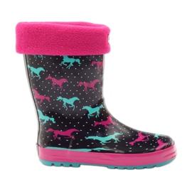 American Club Wellington boty ponožky + vložte americké koně