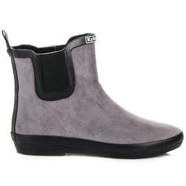 Kylie Suede Leather Wellies