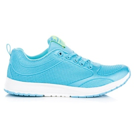 Ax Boxing Modrá textilní obuv modrý