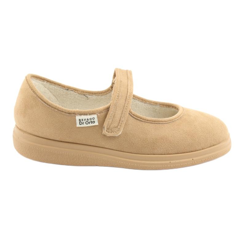 Befado dámské boty pu 462D003 hnědý