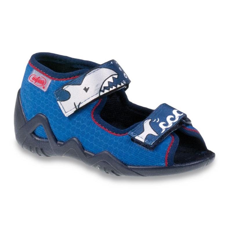 Befado dětské boty 250P069 modrý