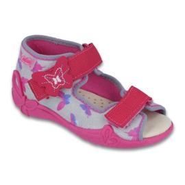 Befado žluté dětské boty 242P077