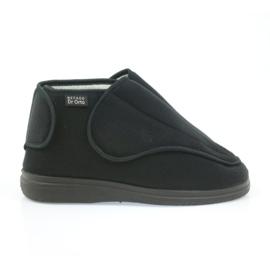 Befado dámské boty pu orto 163D002 černá