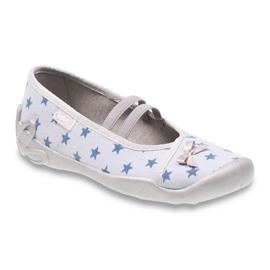 Modrý Befado dětské boty 116Y230