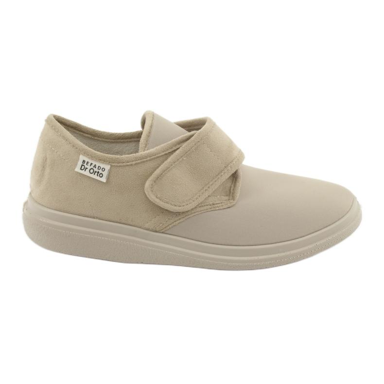 Befado dámské boty pu 036D005 hnědý