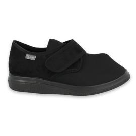 Černá Befado dámské boty pu 036D006