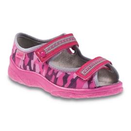 Růžový Befado dětská obuv 969X120