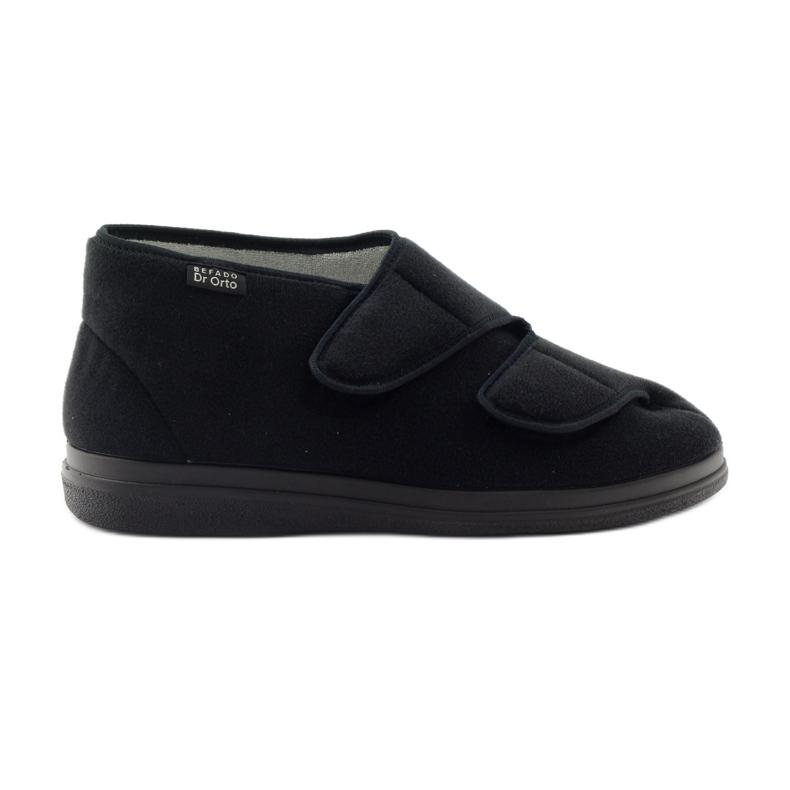Befado pánské boty pu 986M003 černá