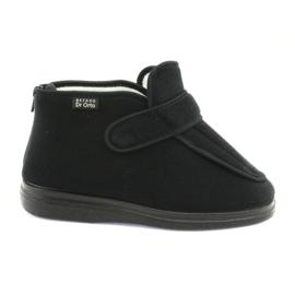 Černá Befado dámské boty pu orto 987D002