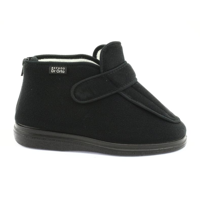 Befado dámské boty pu orto 987D002 černá
