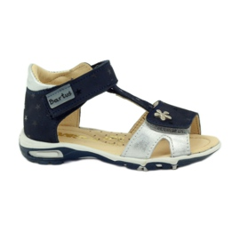 Velcro sandály Bartuś 138 tmavě modré