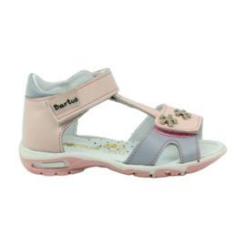 Velcro sandály Bartuś 138 růžové