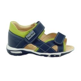 Velcro sandály Bartuś 137 námořní modrá