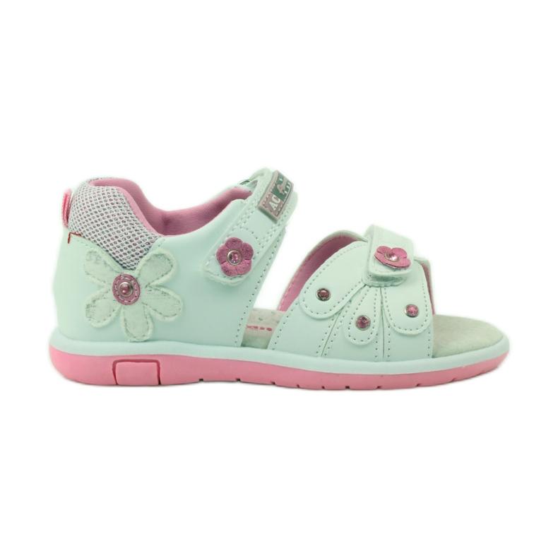 American Club Dětské sandály s americkou koženou vložkou 87285