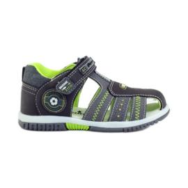 American Club Dětské sandály s americkou koženou vložkou 87290