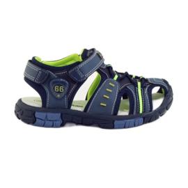 American Club Dětské sandály s koženou vložkou American 93607