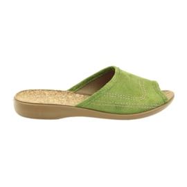 Zelená Befado dámské boty pu l 254D021