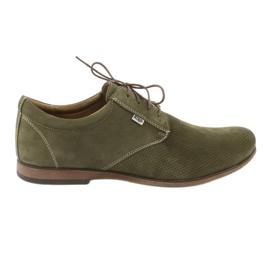 Zelená Pánská obuv Riko 777D
