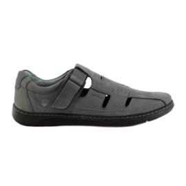 Šedá Pánské sandály Riko 851