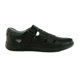 Šedá Riko obuv pánské sandály 851