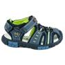 American Club Sandály na suchý zip modrý