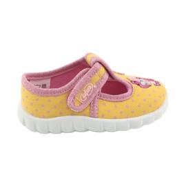 Žlutý Befado dětské boty 535P001