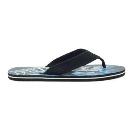 American Club černá Americké pánské pantofle SURF