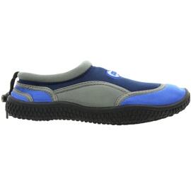 Aqua-Speed Jr. neoprenové plážové boty tmavě šedé