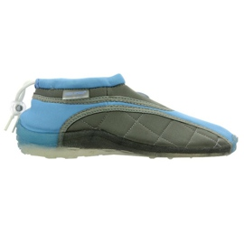 Aqua-Speed Jr. neoprenové plážové boty modro-šedé