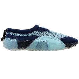Neoprenová plážová obuv Aqua-Speed Jr modrá [ 'vícebarevná']