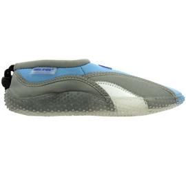 Aqua-Speed Jr. neoprenové plážové boty šedé