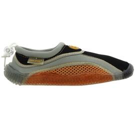 Aqua-Speed Jr. neoprenové plážové boty hnědé