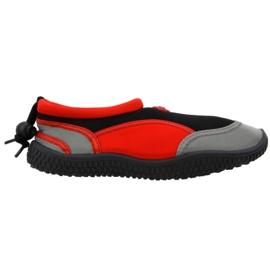 Aqua-Speed Jr červená neoprenová plážová obuv
