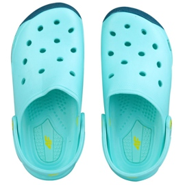 Pantofle 4f Jr HJL18-JKLD200 modrá modrý