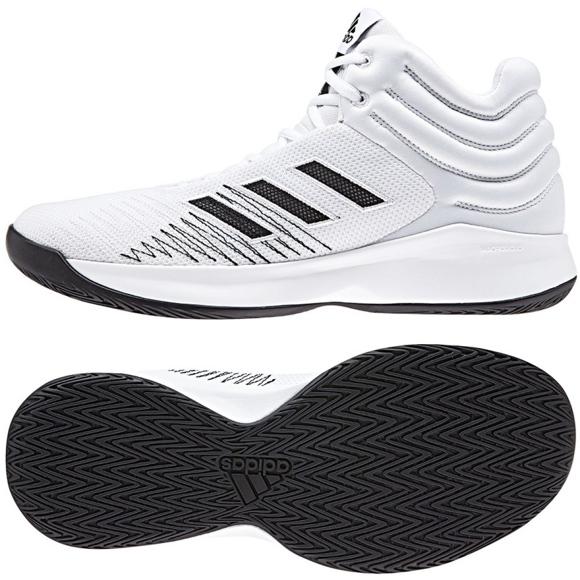 Basketbalová obuv adidas Pro Sprak 2018 M B44966 bílá bílá