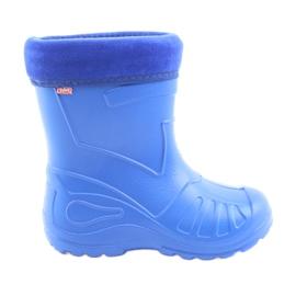Modrý Befado dětské boty galoskie-chabrowy 162Y106