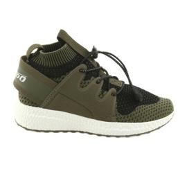 Šedá Befado dětské boty do 23 cm 516X028