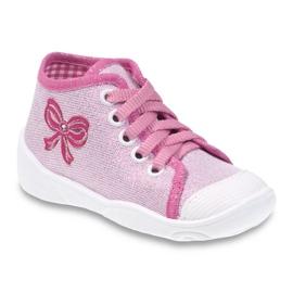 Befado růžová dětská obuv 218P047 růžový