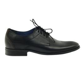 Černá obuv Nikopol 1677