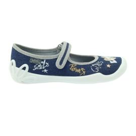 Befado dětské boty bačkory baleríny 114y313