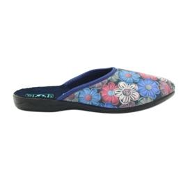3D Adanex barevné květinové pantofle vícebarevný