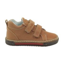 Hnědý Boys 'boty, rýže, Ren But 1429