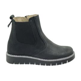 Černá Dívčí boty Ren But 4389 black