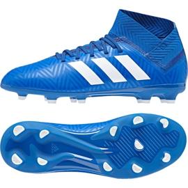 Fotbalová obuv adidas Nemeziz 18.3 Fg Jr DB2351