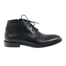 Boty zimní boty Badura 4663 černá
