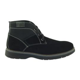 McKey černá Hrudní kotníkové kotníkové boty 284