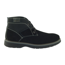 McKey Hrudní kotníkové kotníkové boty 284 černá